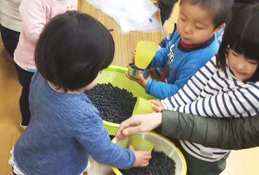 無農薬の黒豆