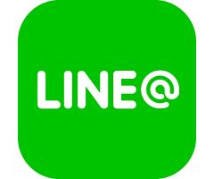 ラインアットのロゴ