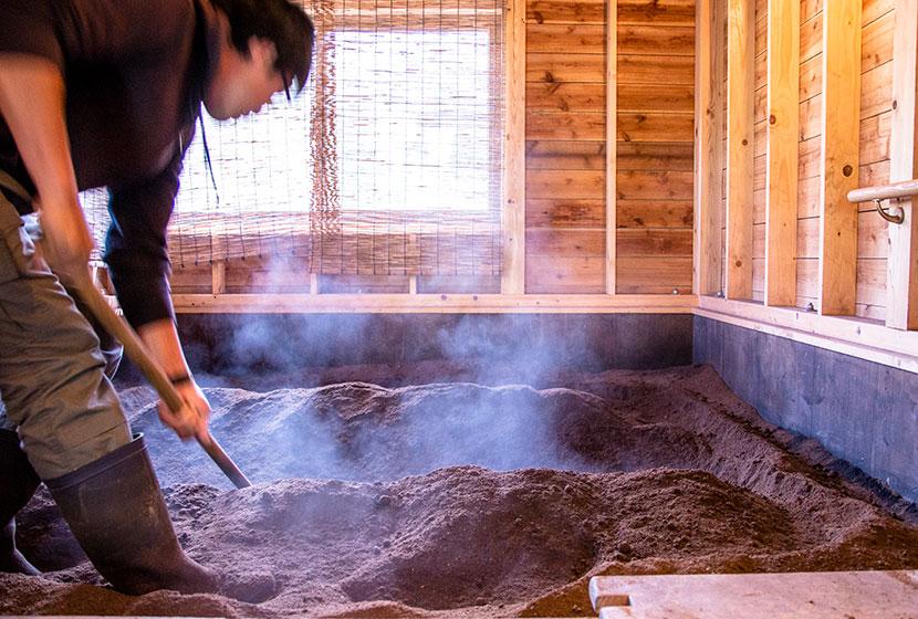 竹岡農園酵素温熱風呂